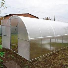 Теплиця Садовод Агро 300х800х200см + стільниковий полікарбонат 4 мм