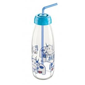Бутылка для молока Sarina с трубочкой 500 мл (S-765-2)