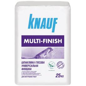 Шпаклевка Кнауф Мультіфініш 25 кг