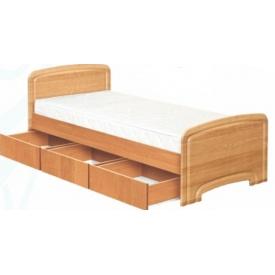 Ліжко Абсолют Меблі К-90С 3Я Модерн ДСП 90х200 см
