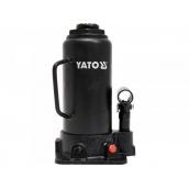 Домкрат гідравлічний стовпчик YATO 12 т 230-465 мм