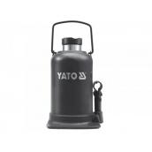 Домкрат гідравлічний стовпчик YATO 10 т 220-483 мм
