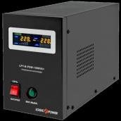 Джерело безперебійного живлення ИБП Logicpower LPY - B - PSW-1500VA+ (1050Вт) 10A/15A