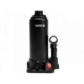 Домкрат гідравлічний стовпчик YATO 5 т 216 - 413 мм