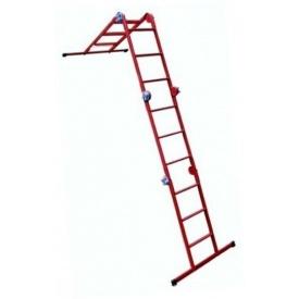 Технолог Драбина шарнірна Трансформер 4х3
