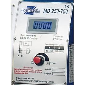 Токарний верстат по металу Zenitech MD 250-550