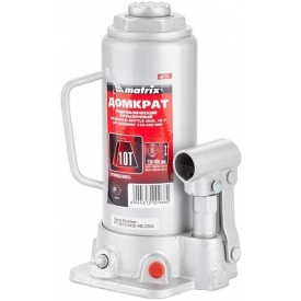 Домкрат гидравлический бутылочный MTX MASTER 10 т 230–460 мм
