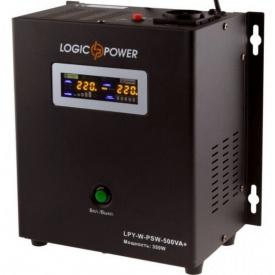 Источник бесперебойного питания UPS Logicpower LPY-W-PSW-500VA + LP4142