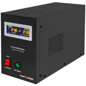 Джерело безперебійного живлення ИБП LogicPower LPY-B-PSW-800VA+ 560W 5A/15A 12V