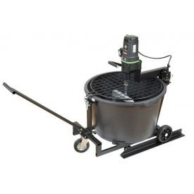 Миксерна установка Eibenstock Automix 90 1500Вт 50 об/хв 80кг/90л 35 кг