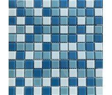 Мозаика VIVACER микс прозрачное стекло 2,5х2,5 CMmix02R 30х30 cм
