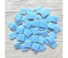 Скляна мозаїка Eco-Mosaic 20х20 мм 33х33 см блакитна (DA302)