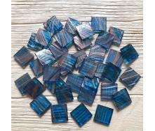 Скляна мозаїка Eco-Mosaic 20х20 мм 33х33 см синя (20Z62)