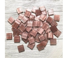 Скляна мозаїка Eco-Mosaic 20х20 мм 33х33 см коричнева (20ZL03)