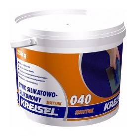 Штукатурка KREISEL Sisiputz 040 барашек 3 мм 25 кг