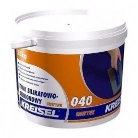 Штукатурка KREISEL Sisiputz 040 барашек 2 мм 25 кг