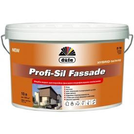Краска Дюфа D790 Profi-Sil Fassad фасадная модифицированная силиконом 3,5 кг