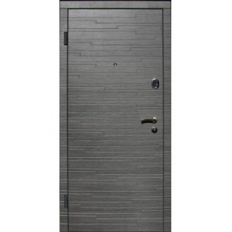 Двери входные Redfort АКУСТИКА Стандарт плюс венге серый горизонт 860х2040 мм