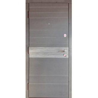 Двери входные Redfort ТИФАНИ Элит венге серый продольный+дуб вулканический 870х2060 мм