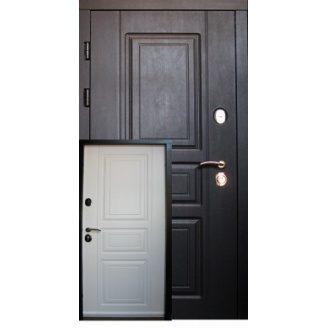 Дверное полотно Redfort ПРОВАНС улица Элит венге/белое дерево 860х2040 мм