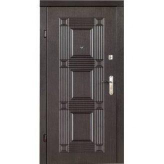 Двери входные Redfort КВАДРО Эконом венге 860х2050 мм