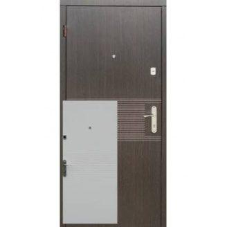 Двери входные Redfort ЛАЙН Эконом венге/ясень белый структурный 860х2050 мм