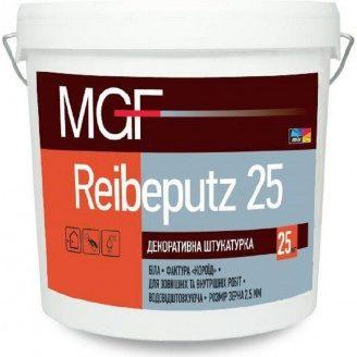 Штукатурка акрилова MGF Reibeputz короїд 2,0 мм25 кг