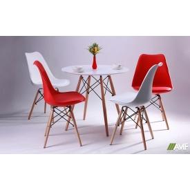 Комплект меблів для ресторану стіл АМФ Helis + 4 стільця Aster Wood