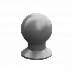 Бетонный шар Золотой Мандарин Сфера 440мм Серый