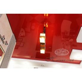 Натяжной потолок глянцевый 0,17 мм красный