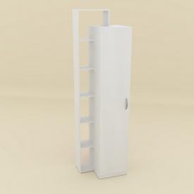 Шкаф-8 Компанит 215х60х46 см нимфея альба