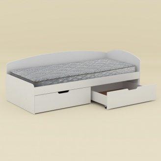 Ліжко Компаніт-90+2С 203х70х94 німфея альба