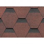 Битумная черепица Технониколь Roofmast Соната коричневый