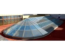 Стеклянная крыша системы Аluprof MB-SR 50