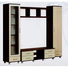 Гостиная комплект №2 Абсолют Мебель Уют МДФ