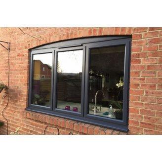 Окно из алюминиевого профиля Алютех W62