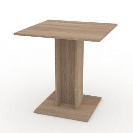 Стол кухонный Компанит КС-7 70х73х70 дуб санома