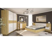 Спальня Мебель-Сервис Фиеста дуб золотой