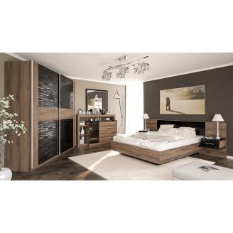 Спальня Мебель-Сервис Фиеста дасира аш темный