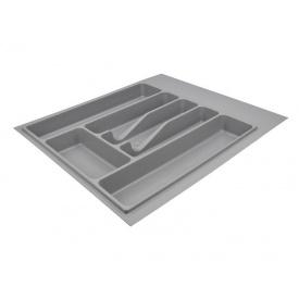 Пенал для посуды серый 440 мм Volpato Italy
