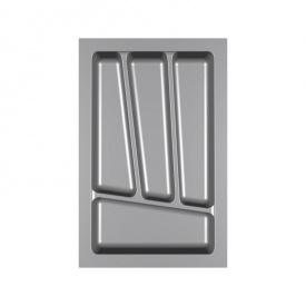 Пенал для посуды 350 серый Verso (280х430х45)