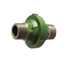 Обратный клапан гравитационный для отопления муфтовый чугунный Ду 32 шар-сталь + EPDM PN7