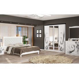 Спальня Мебель-Сервис Ева белая