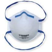 Захисна фільтруюча маска від дрібного пилу FFP1 без дихального клапана