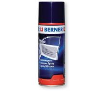 Смазка силиконовая для металлических пластиковых резиновых деталей и автомобильных уплотнителей 400 мл Berner