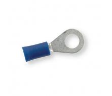 Клемма обжимная изолированная кольцевая Berner синяя 6,5 мм