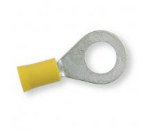 Клемма обжимная изолированная кольцевая Berner желтая 10,4 мм