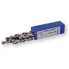 Спиральные сверла DIN 338 HSS 130 градус 10,5 мм с цилиндрическим хвостовиком Berner