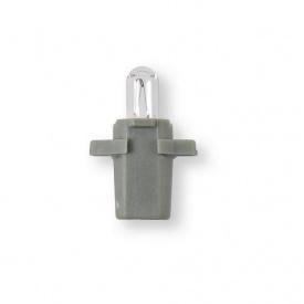 Лампа 24V 1,2W B8,3d серый 1 шт