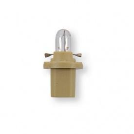 Лампа 12V 1,5W B8,5d коричневая 1 шт